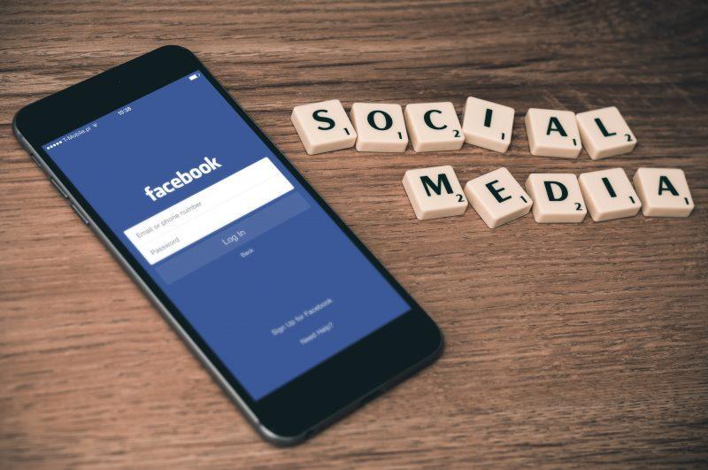 facebook social media phone