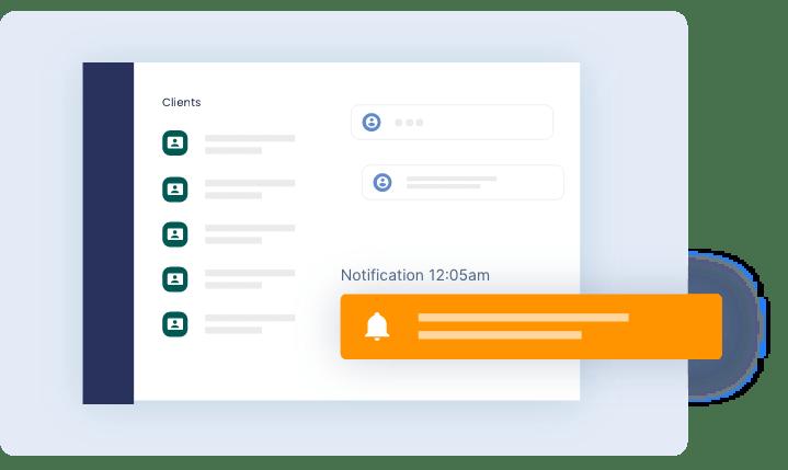 notification alarm - The Link App