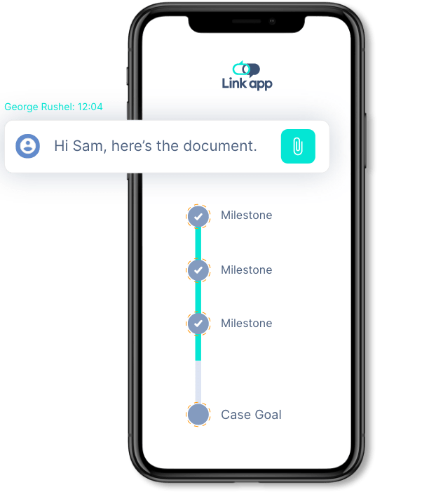 milestone document phone - The Link App