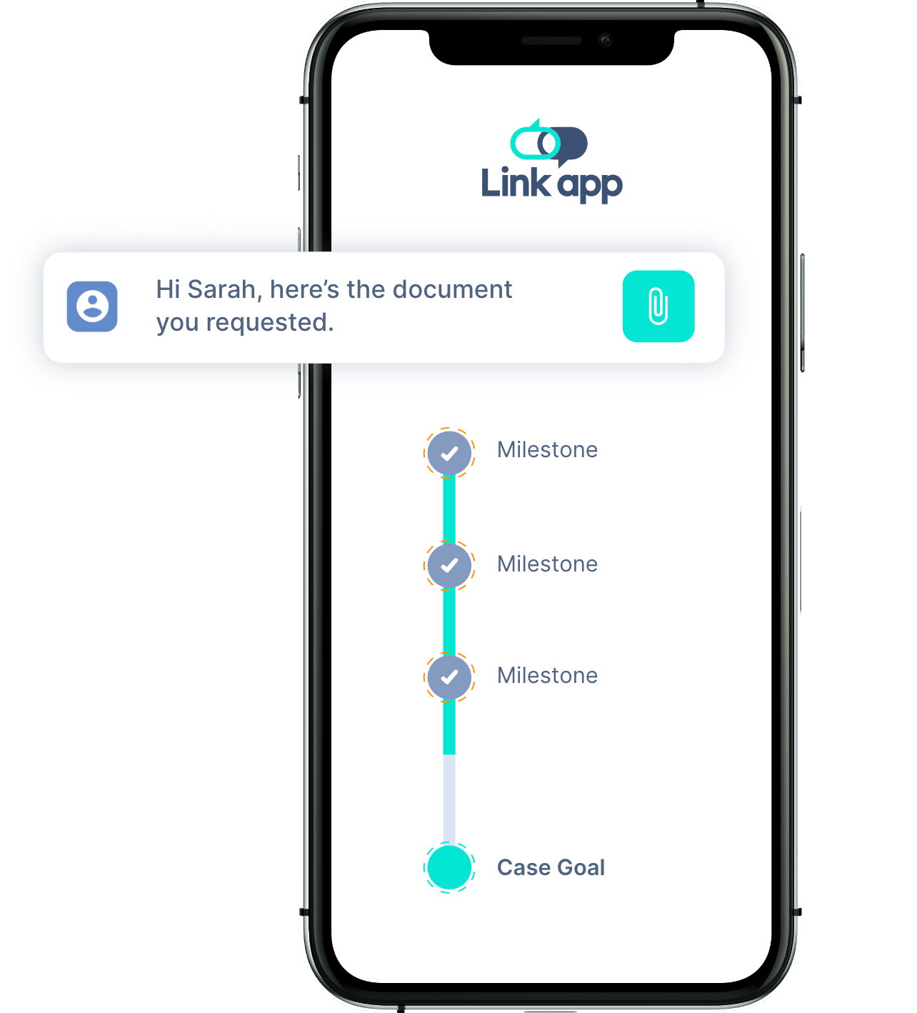 The Link App phone image
