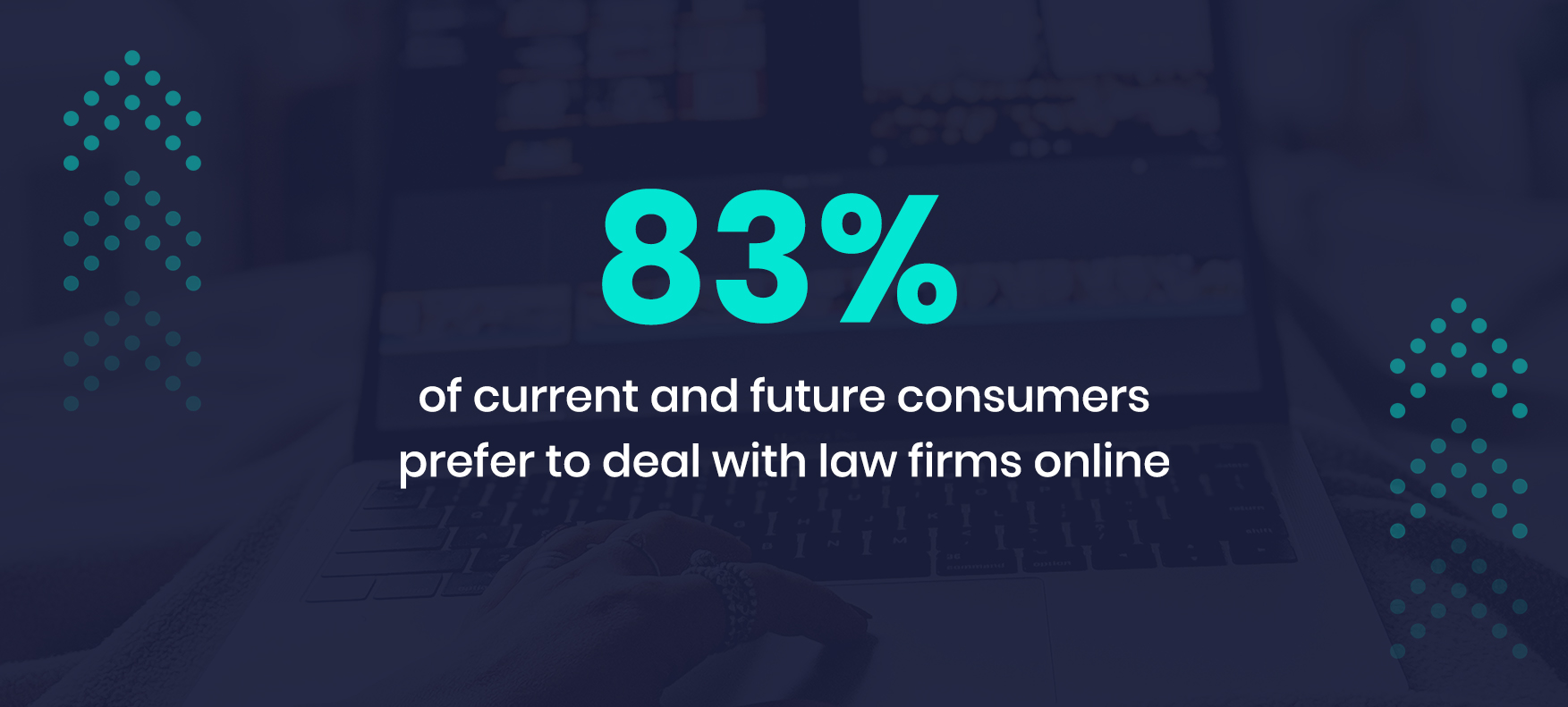 83% of current and future consumers prefer to deal with law firms online